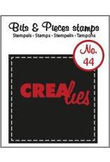 Crealies Crealies clearstamps Bits & Pieces CLBP44