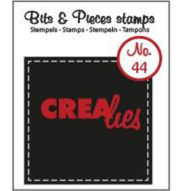 Crealies Crealies clearstamps Bits & Pieces CLBP44