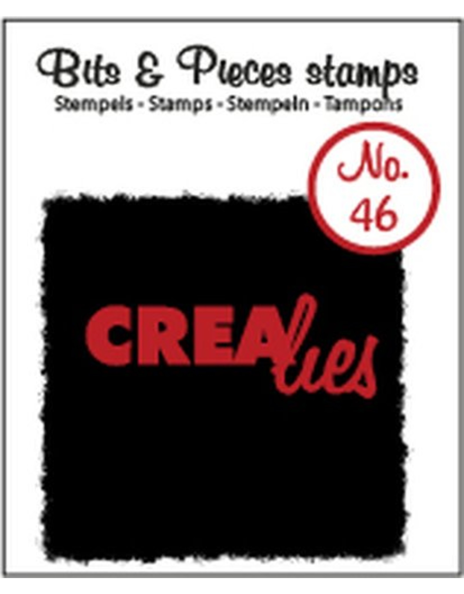 Crealies Crealies clearstamps Bits & Pieces CLBP46