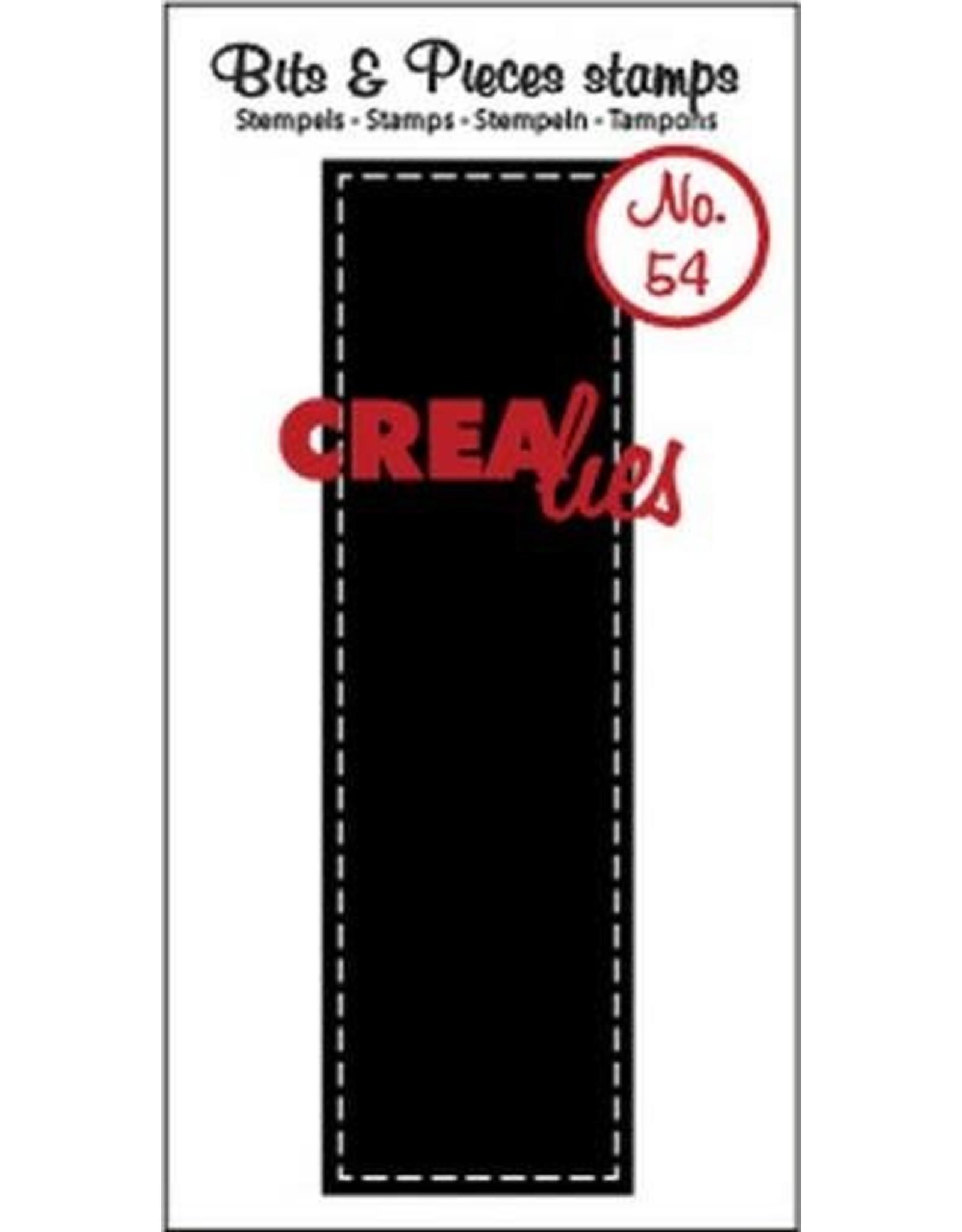 Crealies Crealies Clearstamp Bits&Pieces no. 54