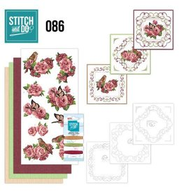 Hobbyjournaal Stitch and Do 86 - Birds and Roses