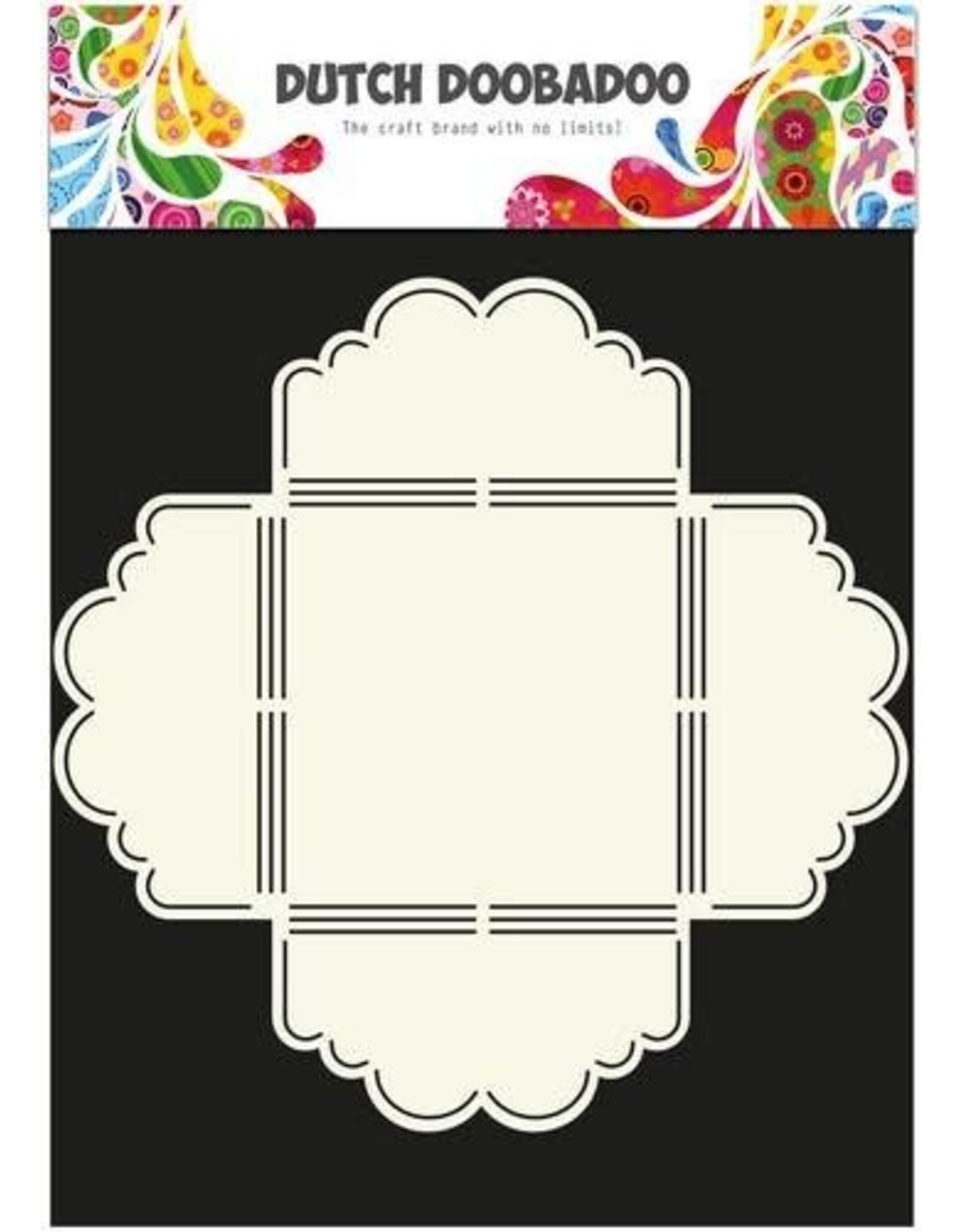 Dutch Doobadoo envelop art Dutch Doobadoo Dutch Envelop Art Scallop 3 A4 470.713.020