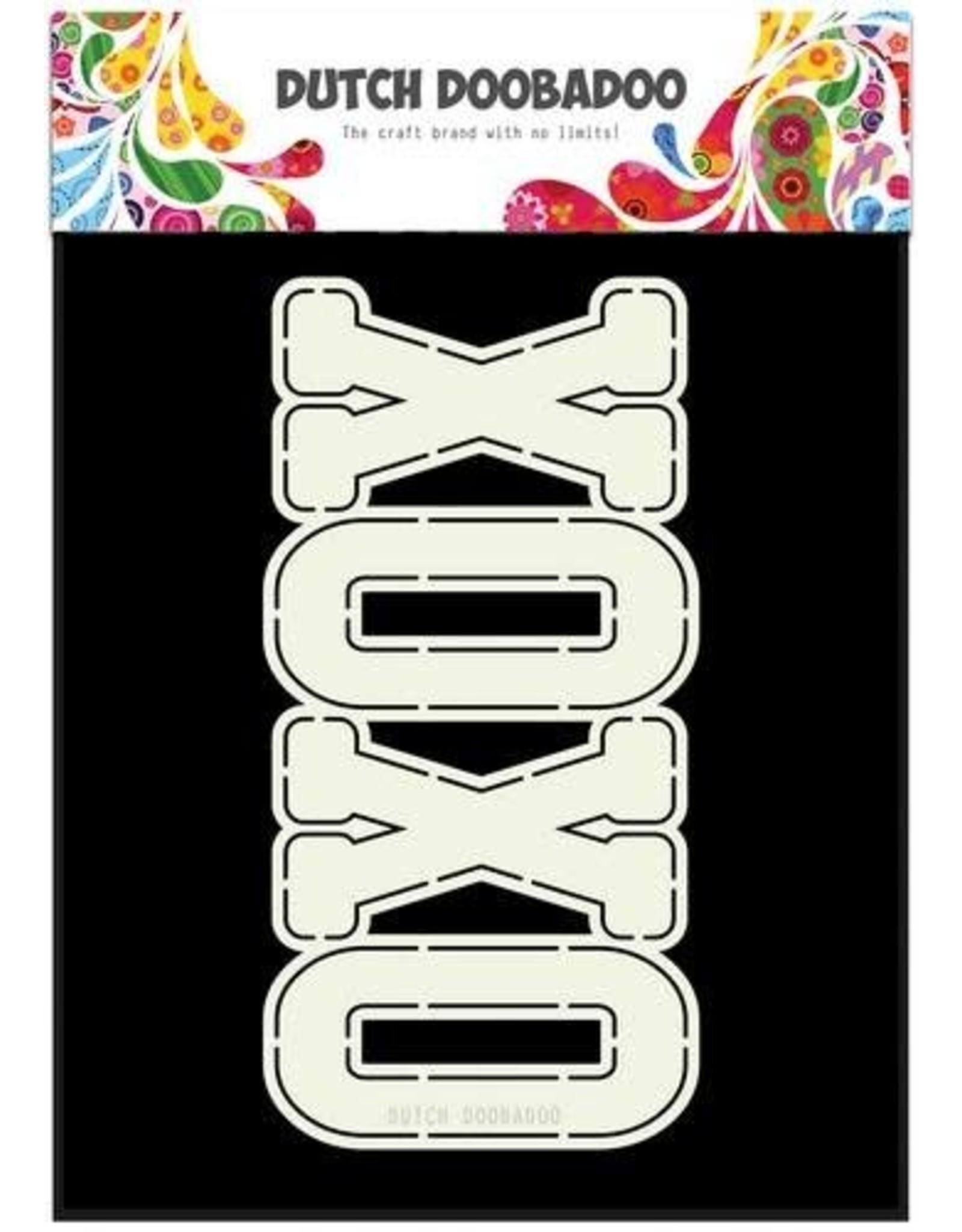 Dutch Doobadoo Card Art Dutch Doobadoo Dutch Card Art XOXO 470.713.657 A4