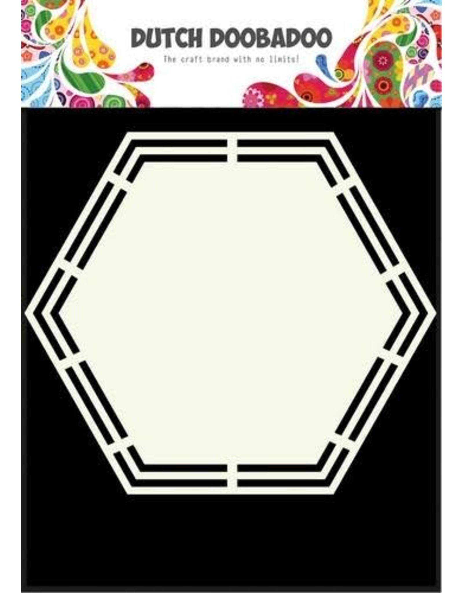 Dutch Doobadoo Shape Art Dutch Doobadoo Dutch Shape Art Hexagon A5 470.713.148