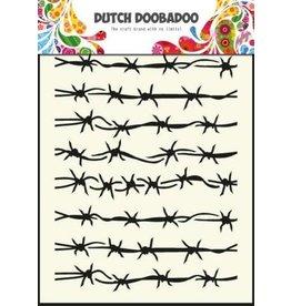 Dutch Doobadoo Mask Art Dutch Doobadoo Dutch Mask Art stencil barbed wire - A5 470.715.008