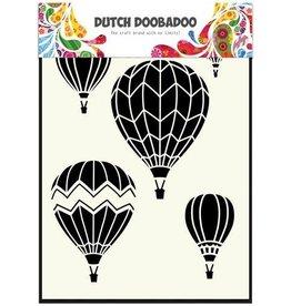 Dutch Doobadoo Mask Art Dutch Doobadoo Dutch Mask Art stencil Luchtballonnen multi A5 470.715.106