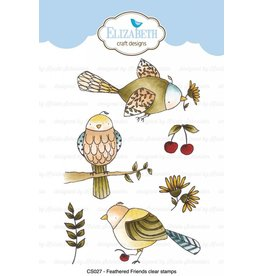 Elizabeth Craft Designs Elizabeth Craft Designs Feathered Friends Clear Stamps CS027