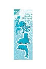 Joy Craft Joy Crafts Under the sea kwal,zeehond,dolfijn 6002/0655