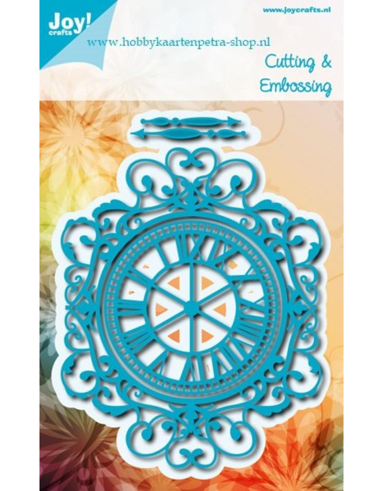 Joy Craft Joy Crafts snijstencil klok 6002/0971