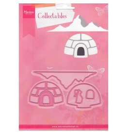 Marianne Design Marianne D Collectable Igloo and mountain COL1417