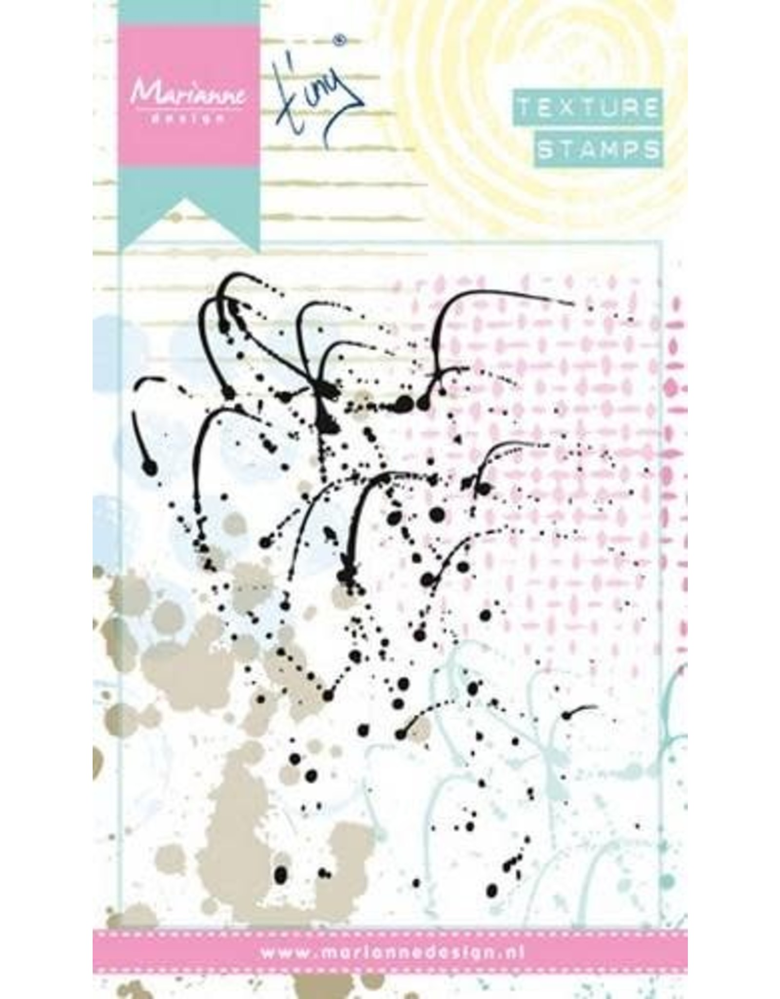 Marianne Design Marianne D Stempel Texture Splatters MM1607