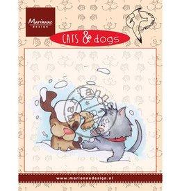Marianne Design Marianne Design Cats & DogsSnow fun CD3501