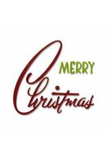 Sizzix Thinlits Sizzix Thinlits Die Set 2PK Retro Merry Christmas 662420 Tim Holtz