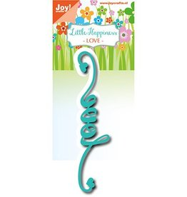 Joy Craft Joy Crafts Cutting Snijstencil - Noor - Love 6002/1254