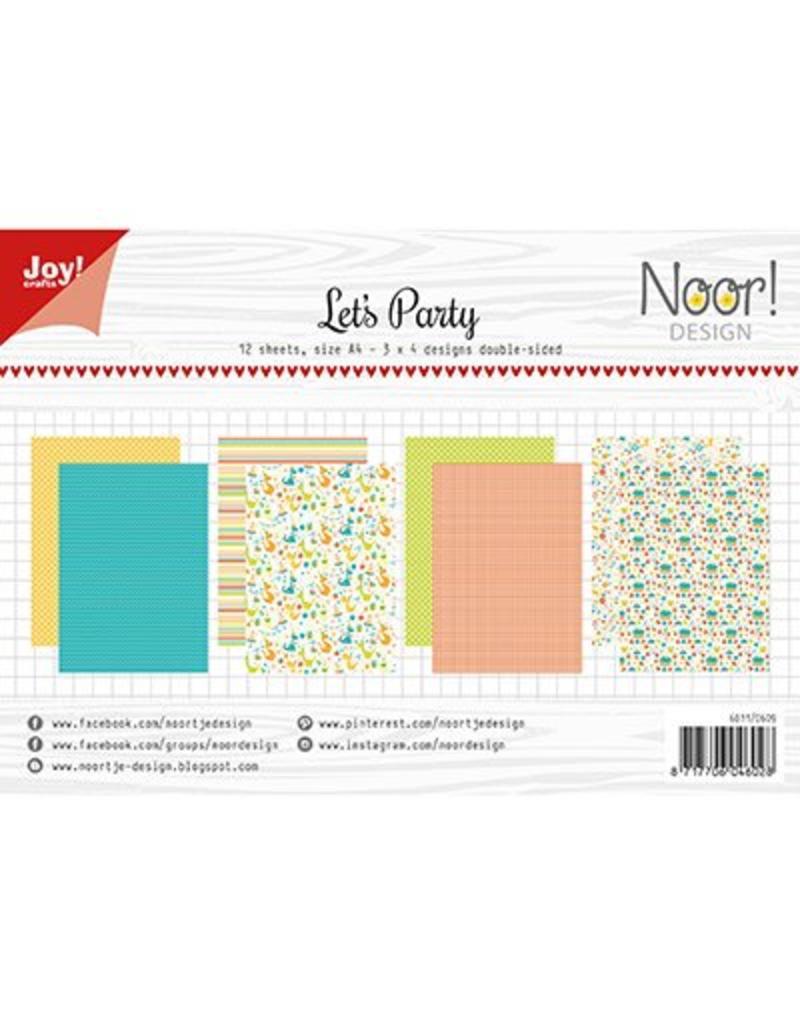 Joy Craft Joy Crafts Papier Set A4 Design Let  6011/0609