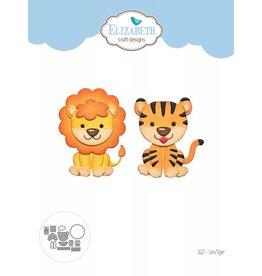 Elizabeth Craft Designs Elizabeth Craft Designs Lion Tiger 1617