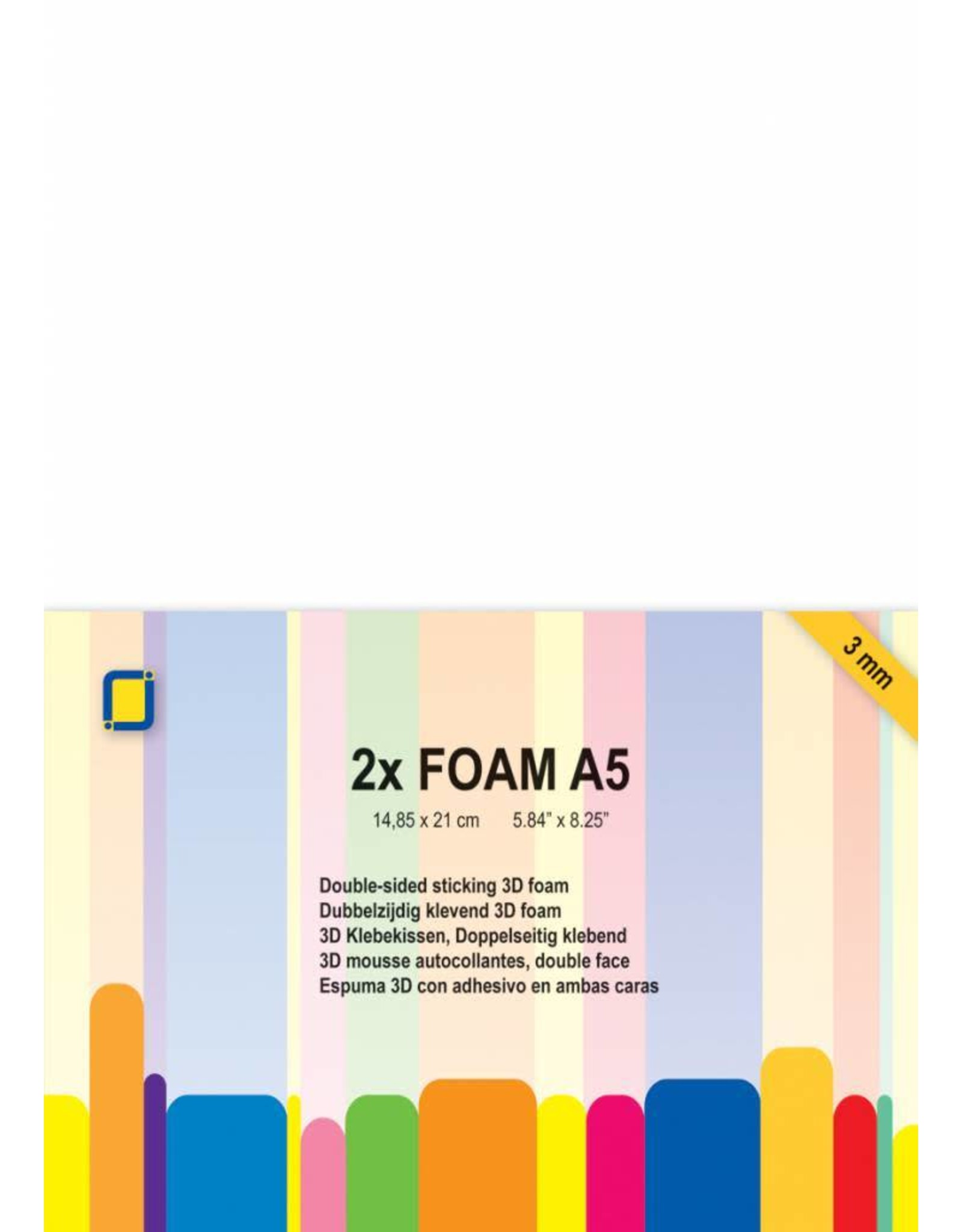 JeJe JEJE Produkt 3D Foam A5 3mm 2 Sheets