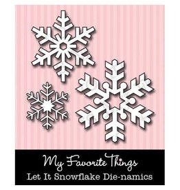 My Favourite Things My Favorite Things Die-namics Let it Snowflake MFT-025