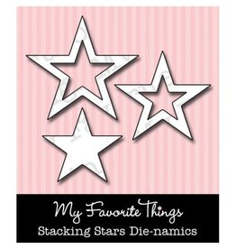 My Favourite Things My Favorite Things Die-namics Stacking Stars MFT-035
