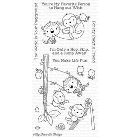 My Favourite Things My Favorite Things Jungle Gym Clear Stamps (CS-215)