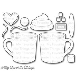 My Favourite Things My Favorite Things Die-Namics Hot Cocoa Cups (MFT-803)