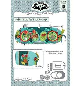 Karen Burniston Karen Burniston Circle tag book pop-up1081