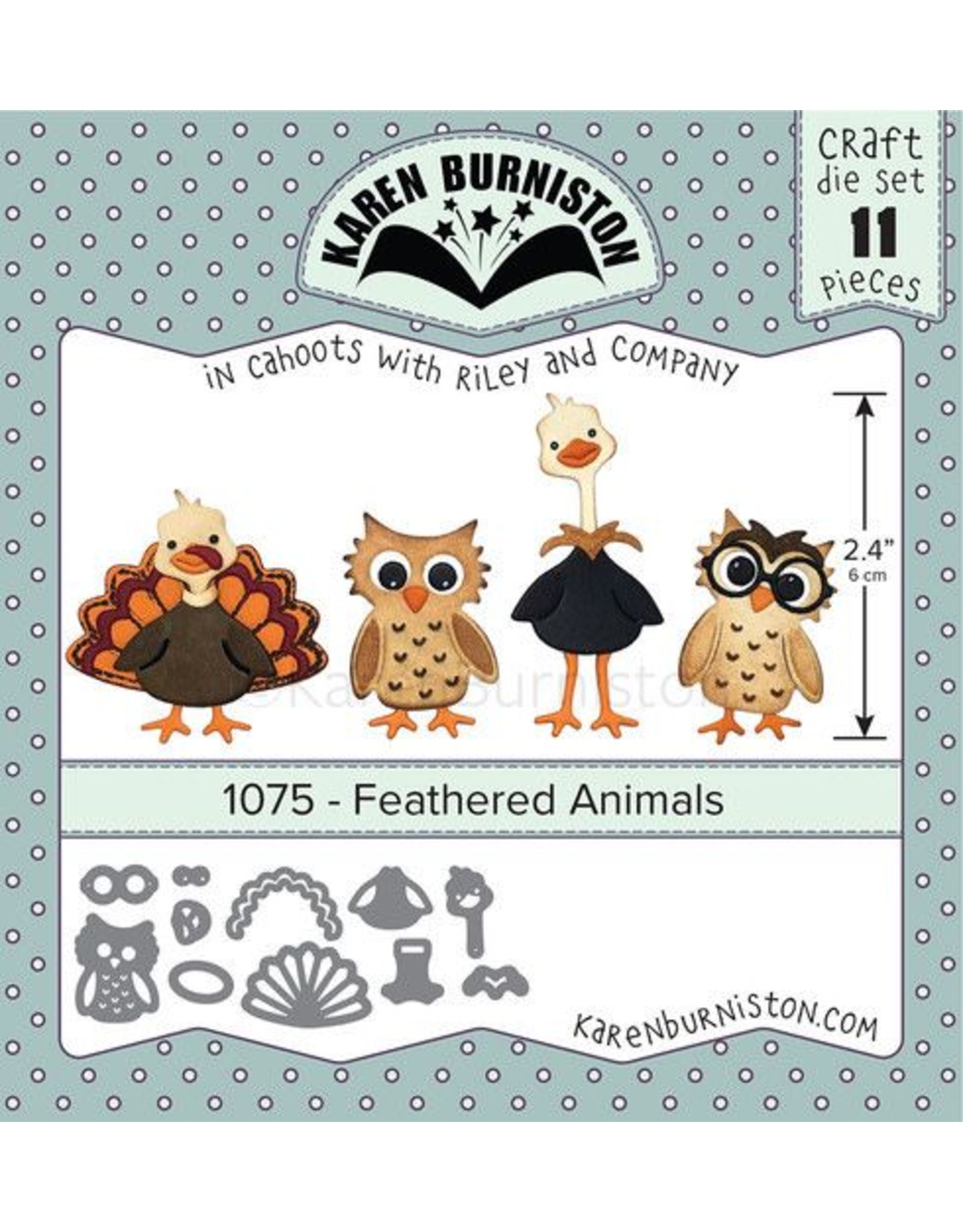 Karen Burniston Karen Burniston Feathered animals 1075