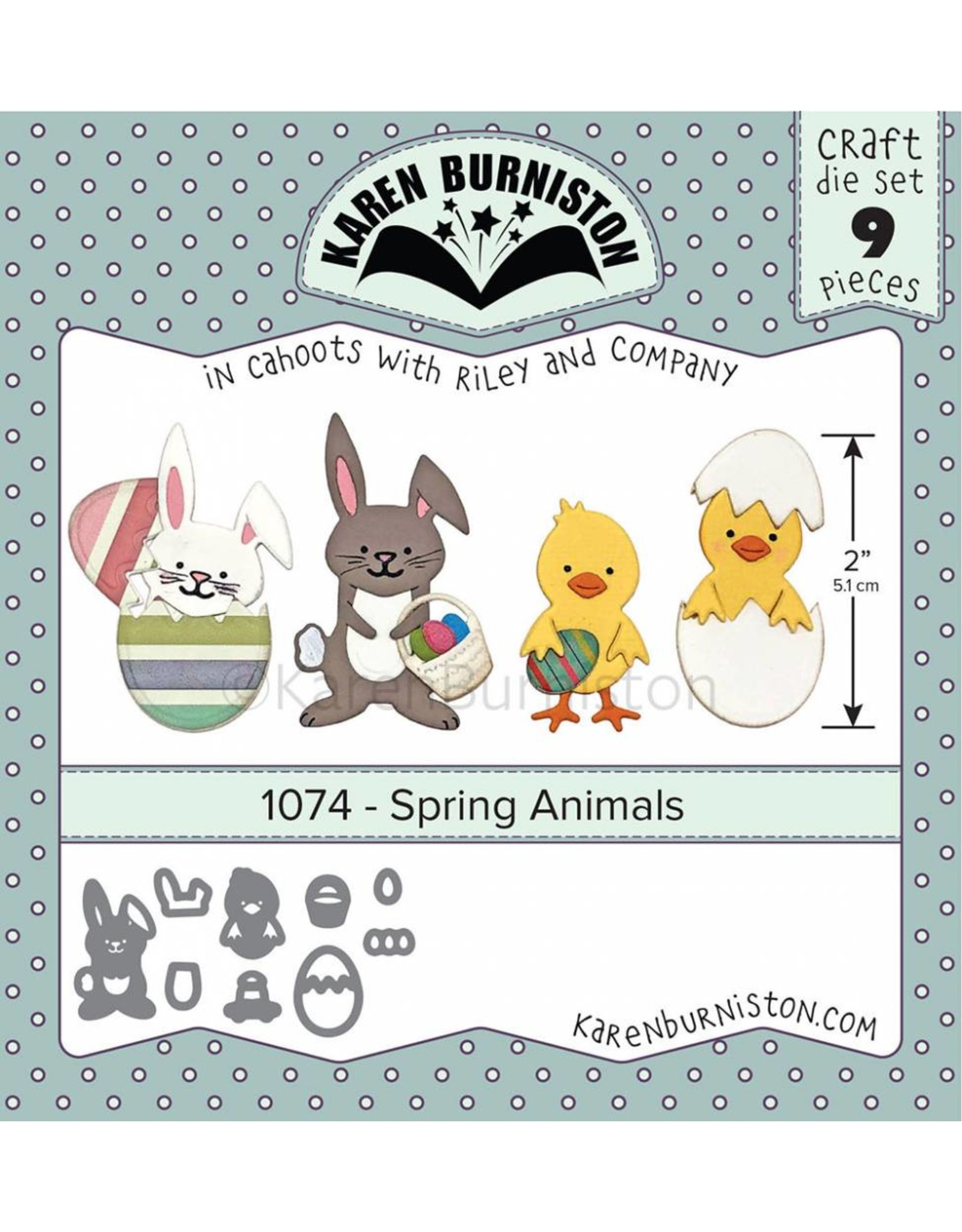 Karen Burniston Karen Burniston Spring animals 1074