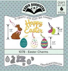 Karen Burniston Karen Burniston Easter charms 1078