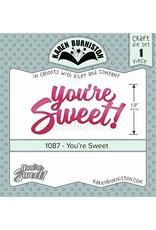Karen Burniston Karen Burniston You're sweet 1087