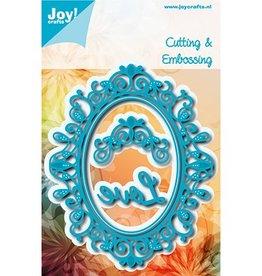 Joy Craft Joy Crafts Snij-embosstencils - Noor! - Ovaal Sophia  6002/1112