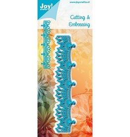 Joy Craft Joy Craft Snij-embosstencil - Blauw Kantrand 6002/1142