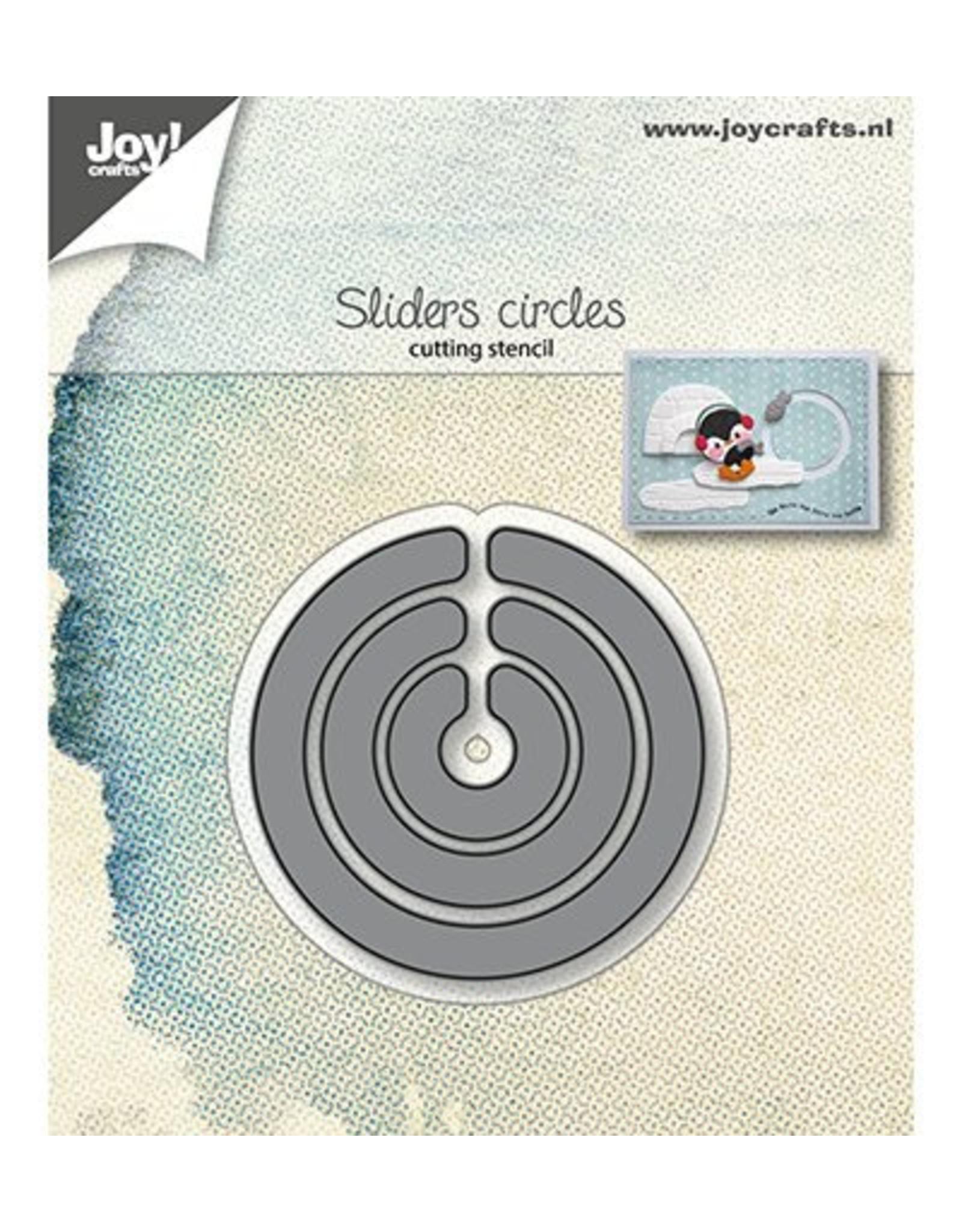 Joy Craft Joy Crafts Snijstencils - Slider-cirkels 6002/1239