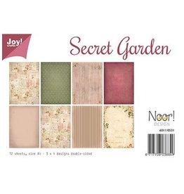Joy Craft Joy Crafts Papier Set A4 Secret Garden 6011/0531