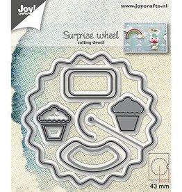 Joy Craft Joy Crafts Snijstencil - Verrassingswiel/Aankondigingswiel 6002/1240