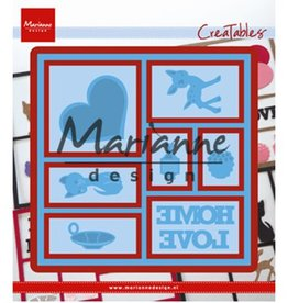 Marianne Design Marianne D Creatable Layout LR0568