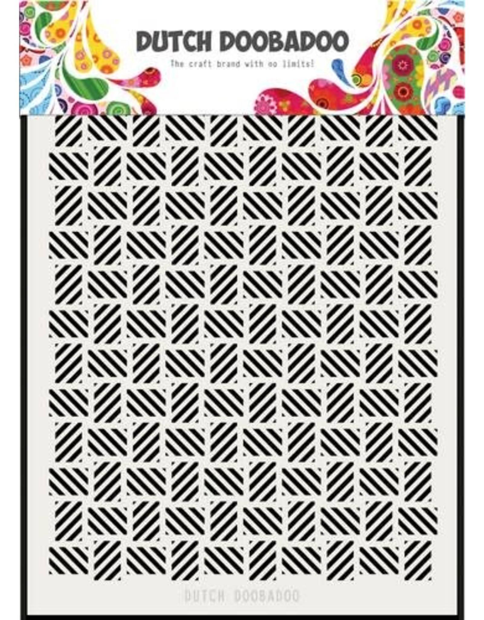 Dutch Doobadoo Dutch Doobadoo Dutch Mask Art stripe pattern los A5 470.715.134