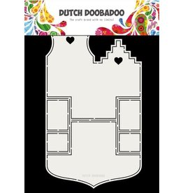 Dutch Doobadoo Dutch Doobadoo Fold card art Small houses A4 470.713.701