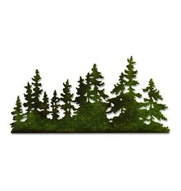 Sizzix Thinlits Sizzix Thinlits Die - Tree Line 661604 Tim Holtz