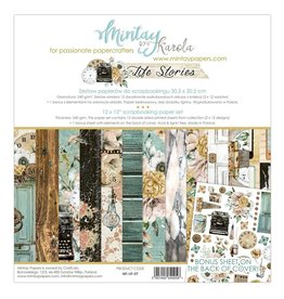 "Mintay by Karola Mintay by Karola  Life Stories 12""x12"" (30 x30)"