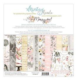 """Mintay by Karola Mintay by Karola  Marry Me  12""""x 12"""" (30 x 30)"""