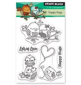 penny black Penny Black Mini Clear Set Stamp Happy hugs 30-524