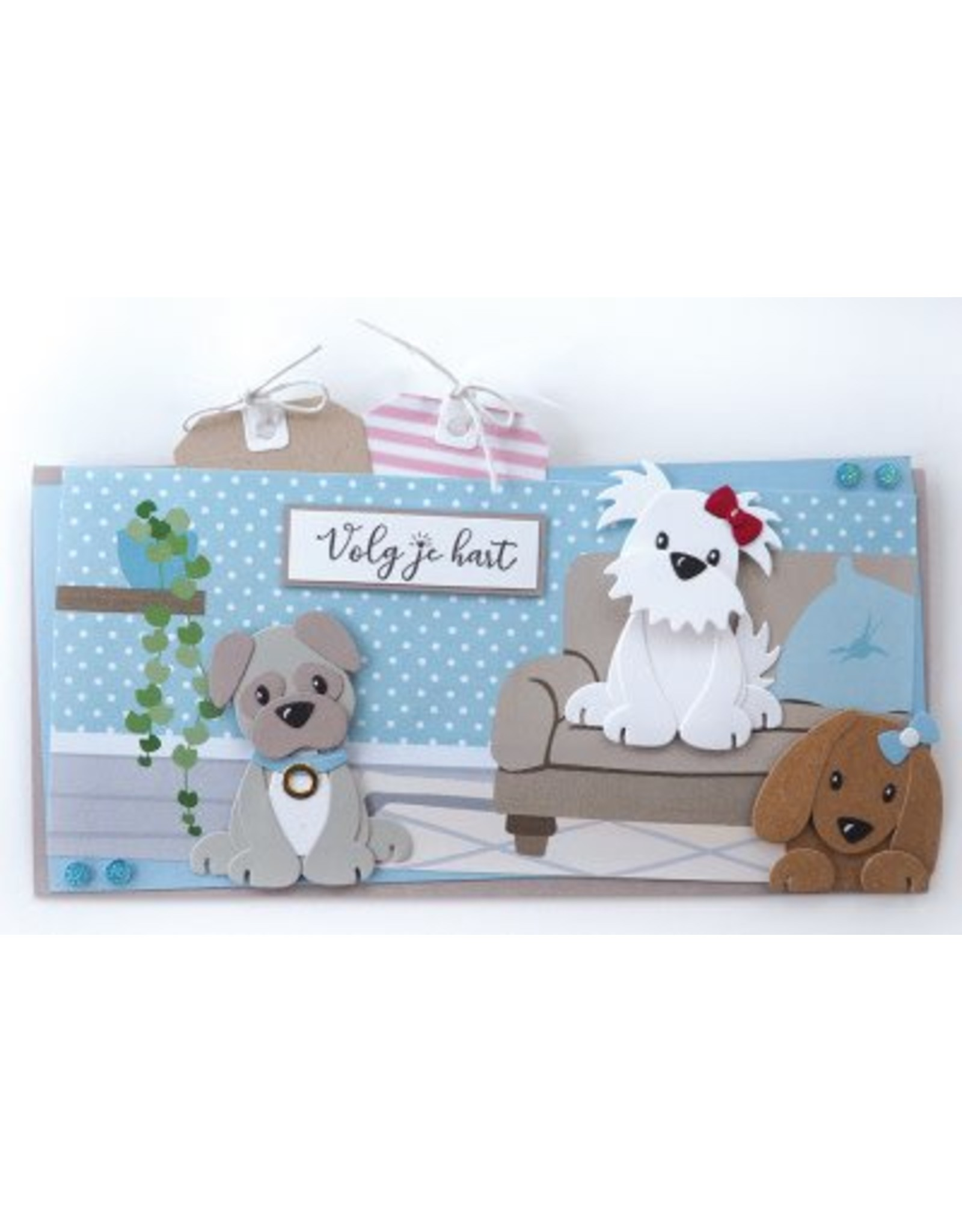 Marianne Design Marianne D Collectable Eline`s puppy COL1464 129x94mm