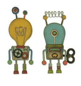 Sizzix Thinlits Sizzix Thinlits Die Set - 14PK Robotic 664162 Tim Holtz