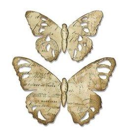 Sizzix Bigz Sizzix Bigz Die - Tattered Butterfly 664166 Tim Holtz