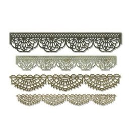 Sizzix Thinlits Sizzix Thinlits Die Set - 4PK Crochet 664178 Tim Holtz
