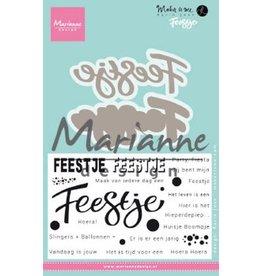 Marianne Design Marianne D Stempel en die Karin`s Feestje (NL) KJ1728