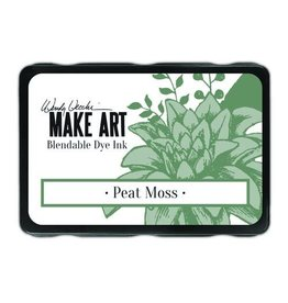 Ranger Ranger MAKE ART Dye Ink Pad Peat Moss WVD64343 Wendy Vecchi