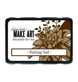 Ranger Ranger MAKE ART Dye Ink Pad Potting Soil WVD64367 Wendy Vecchi