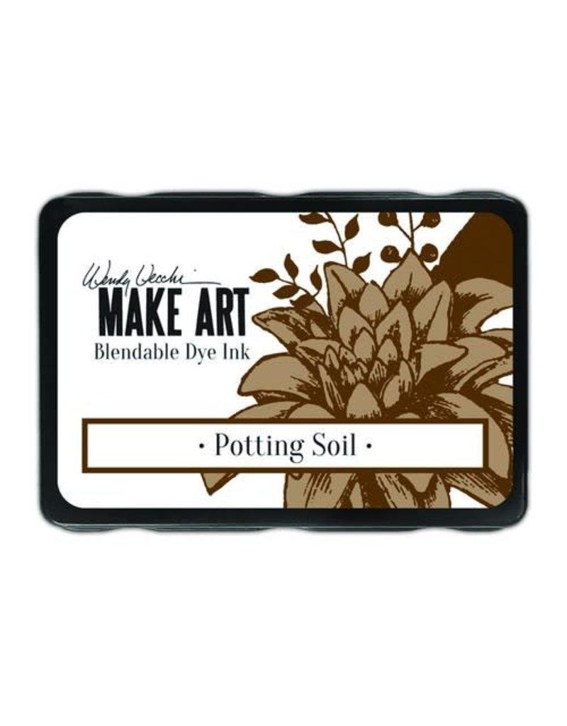 Ranger Ranger MAKE ART Dye Ink Pad Potting Soil WVD64367 Wendy Vecchi
